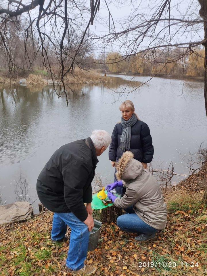 Во время отбора проб воды криворожские экологи обнаружили сброс бытовых стоков в реку Саксагань, - ФОТО, фото-4