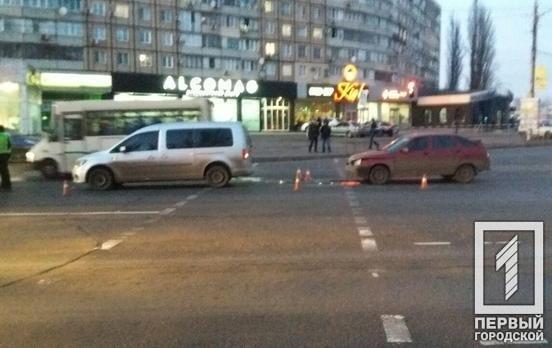В Кривом Роге на перекрестке произошло ДТП, - ФОТО , фото-1