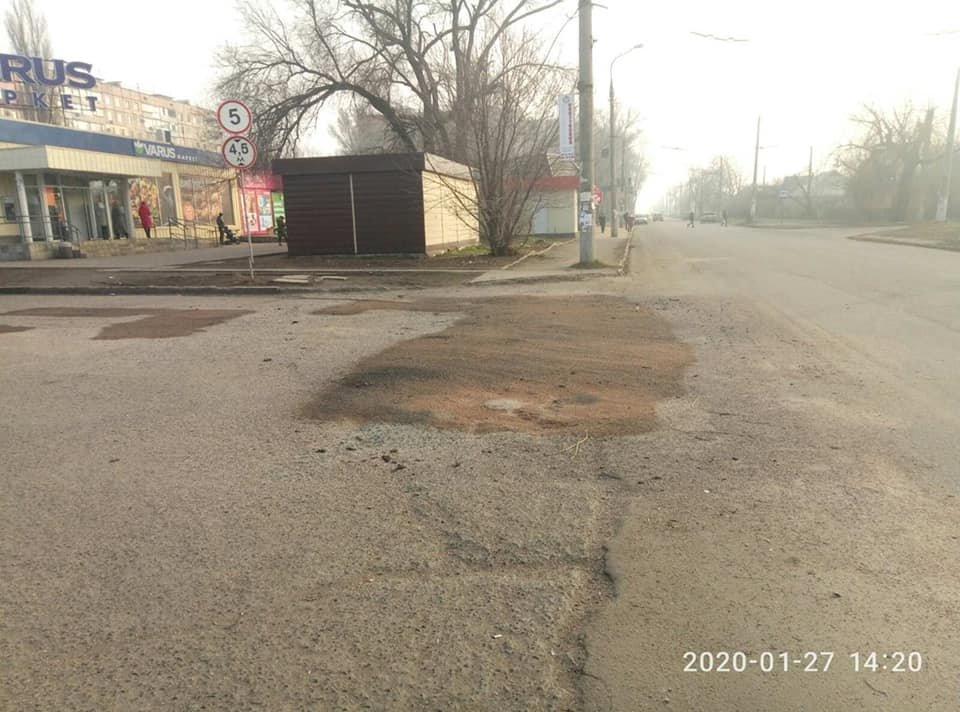 В Кривом Роге начался ямочный ремонт дорог, - ФОТО , фото-3