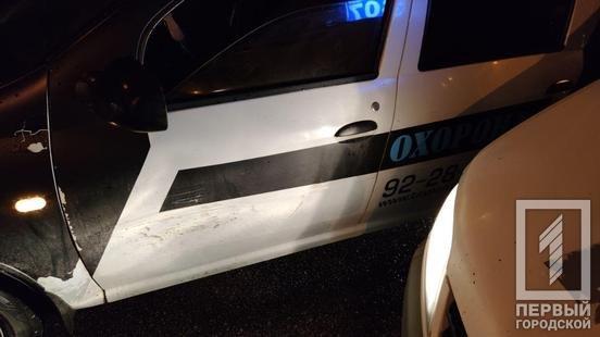 В Кривом Роге не поделили дорогу маршрутка и машина охранного агенства, - ФОТО , фото-2