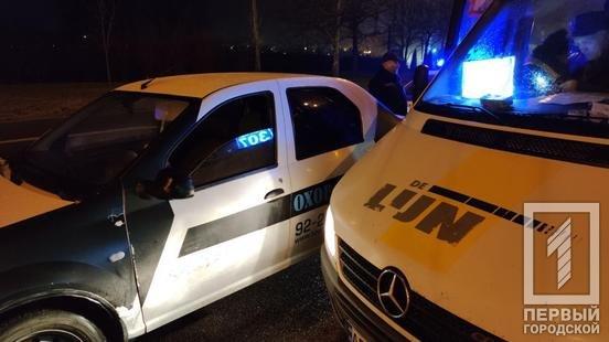 В Кривом Роге не поделили дорогу маршрутка и машина охранного агенства, - ФОТО , фото-3