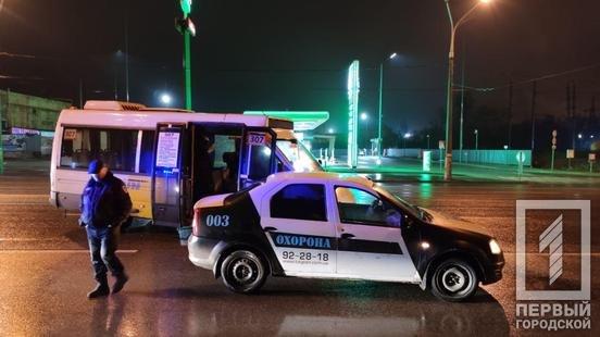В Кривом Роге не поделили дорогу маршрутка и машина охранного агенства, - ФОТО , фото-4