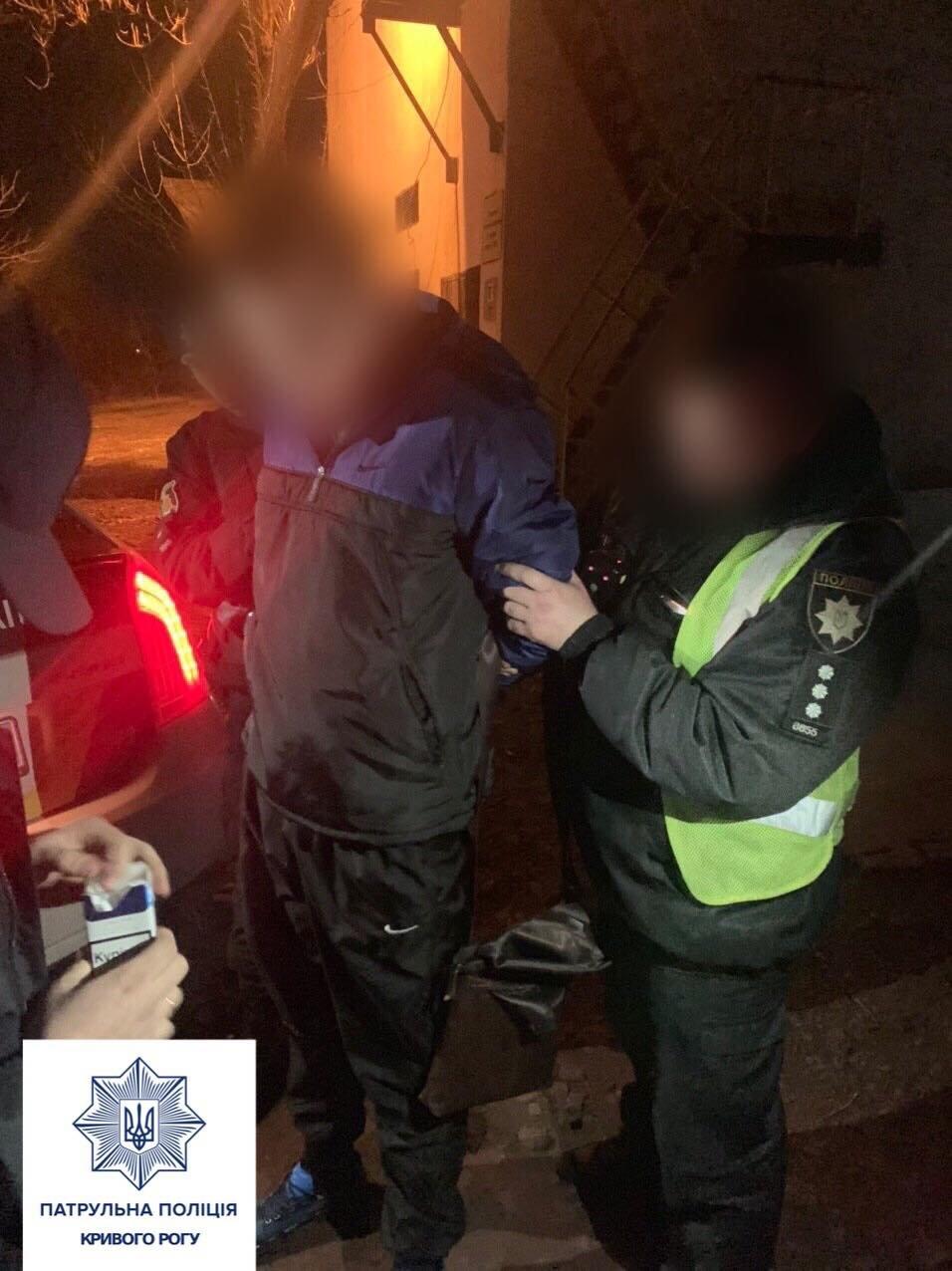 Патрульные в Кривом Роге задержали сбежавшего из больницы заключенного, - ФОТО, фото-1