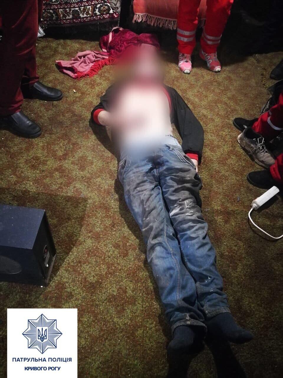 Совместная выпивка закончилась убийством: в Кривом Роге патрульные задержали подозреваемого, - ФОТО 18+, фото-2