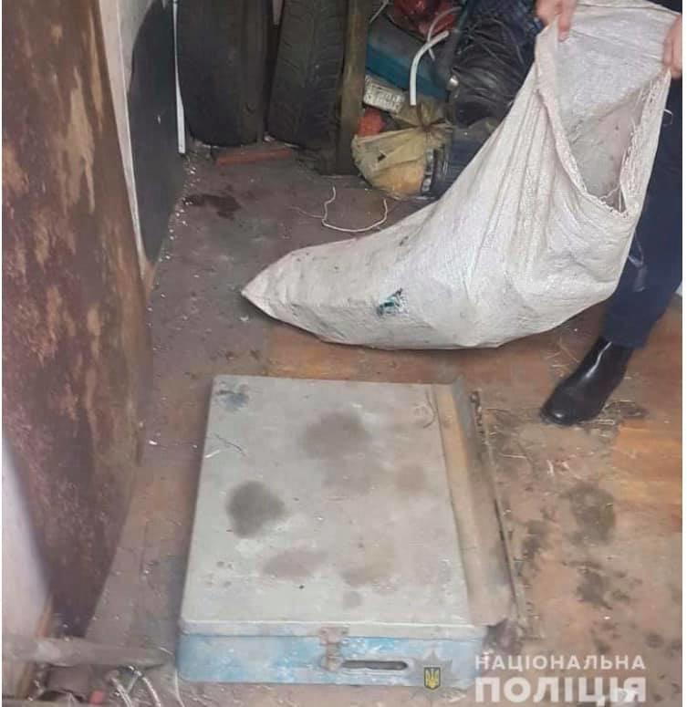 Во дворе у криворожанина полицейские нашли весы и 150 кг медного лома, - ФОТО, фото-2