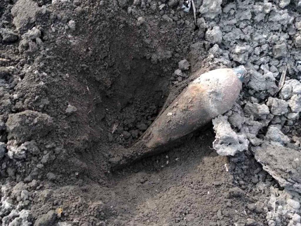 Искал лом, наткнулся на мину: под Кривым Рогом нашли устаревший боеприпас, - ФОТО, фото-5