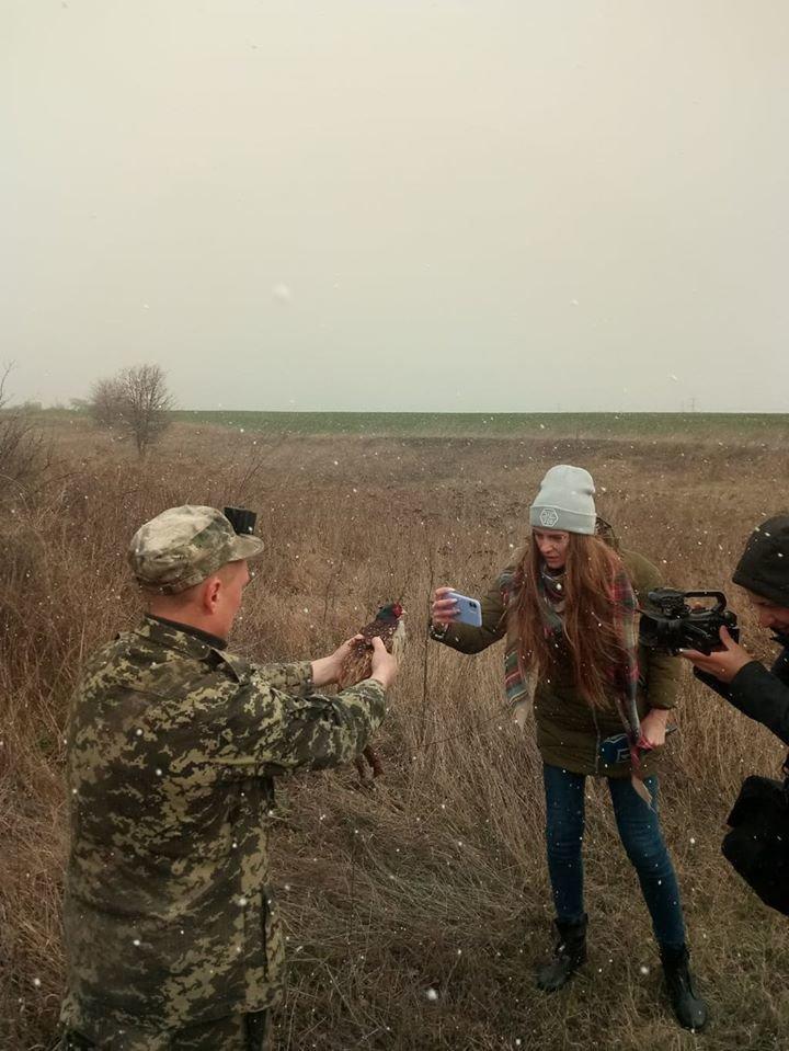 На Криворожье охотники выпустили в дикую природу фазанов, - ФОТО , фото-2