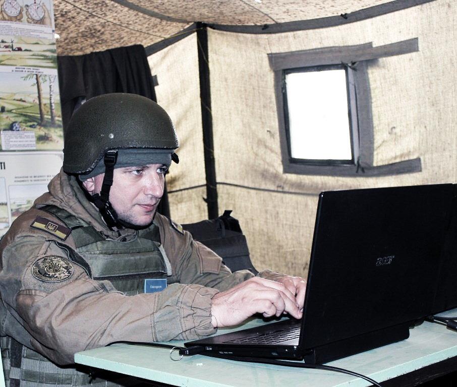 Бригада территориальной обороны училась отражать наступления противника на Кривой Рог, - ФОТО , фото-3