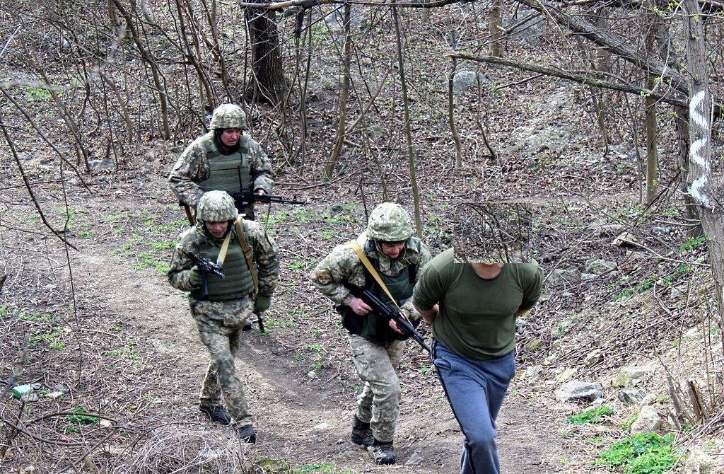 Бригада территориальной обороны училась отражать наступления противника на Кривой Рог, - ФОТО , фото-6