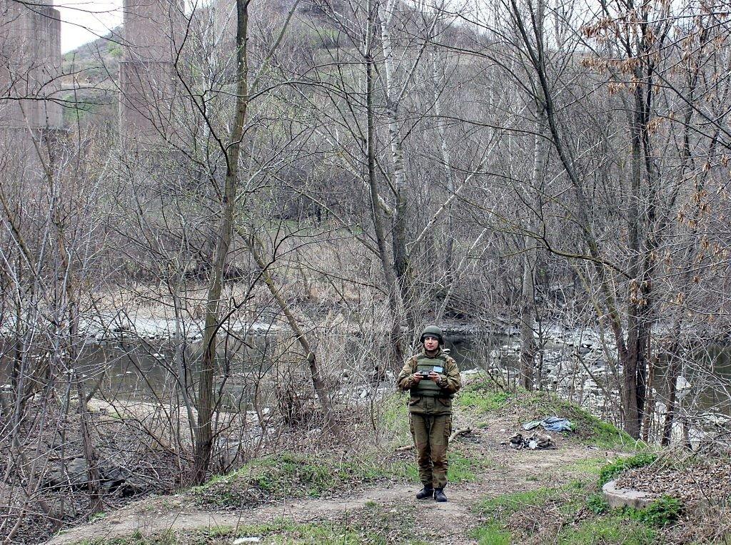 Бригада территориальной обороны училась отражать наступления противника на Кривой Рог, - ФОТО , фото-5
