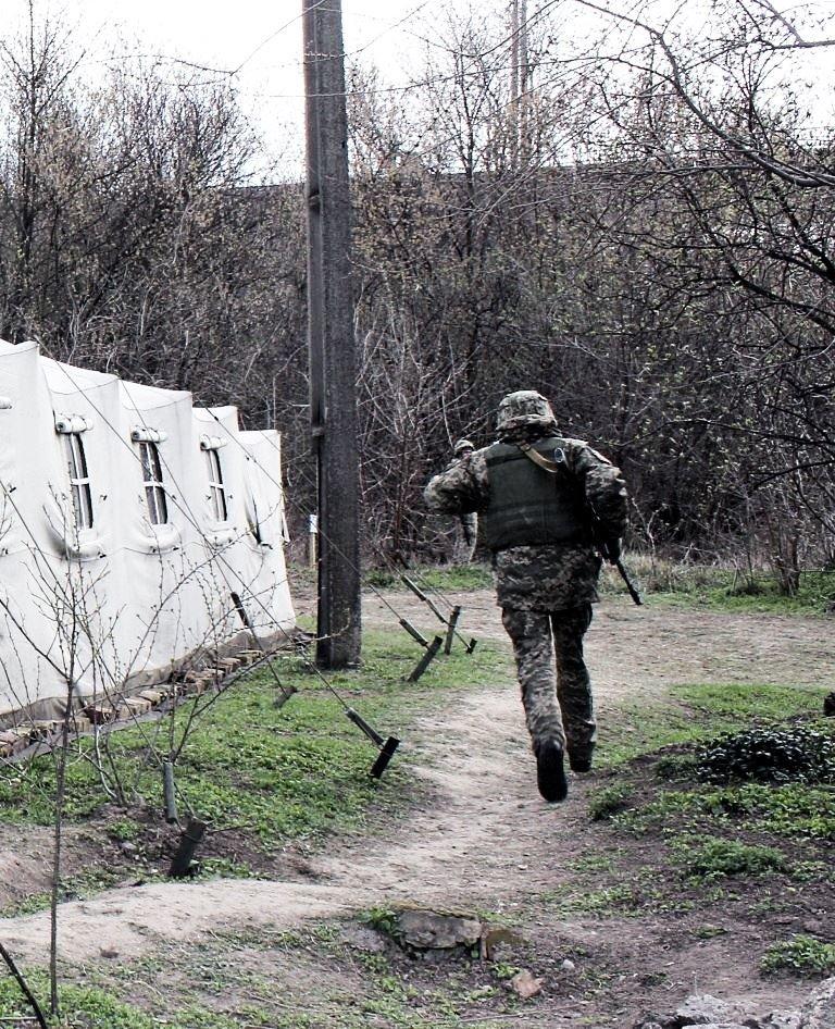 Бригада территориальной обороны училась отражать наступления противника на Кривой Рог, - ФОТО , фото-15