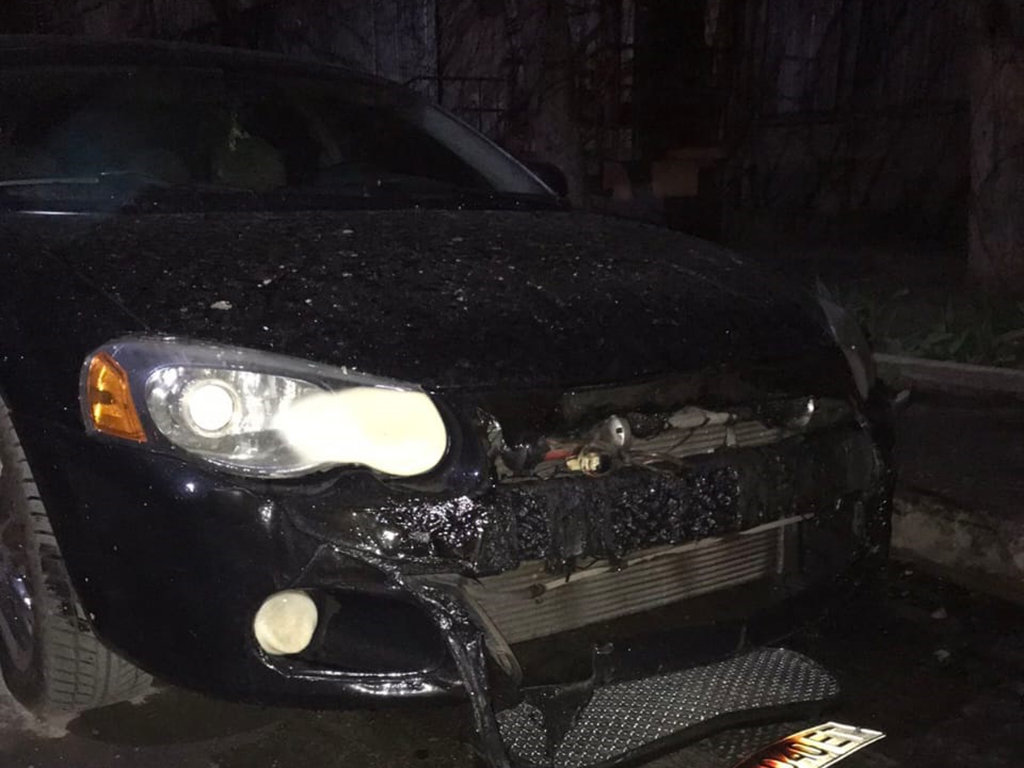 В Кривом Роге ночью загорелись два припаркованные рядом автомобиля, фото-4