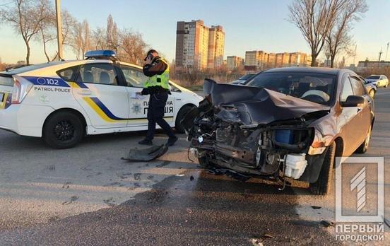 В двойном ДТП в Кривом Роге пострадал один из водителей, - ФОТО, фото-1