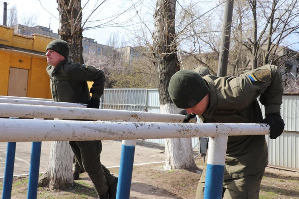 В Кривом Роге продолжается профессиональная подготовка стрелков-зенитчиков, - ФОТО, фото-7