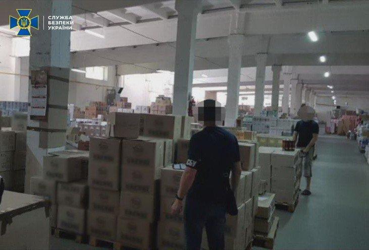 СБУ заблокировала схему незаконной поставки продукции в ОРДЛО., - ФОТО, фото-2