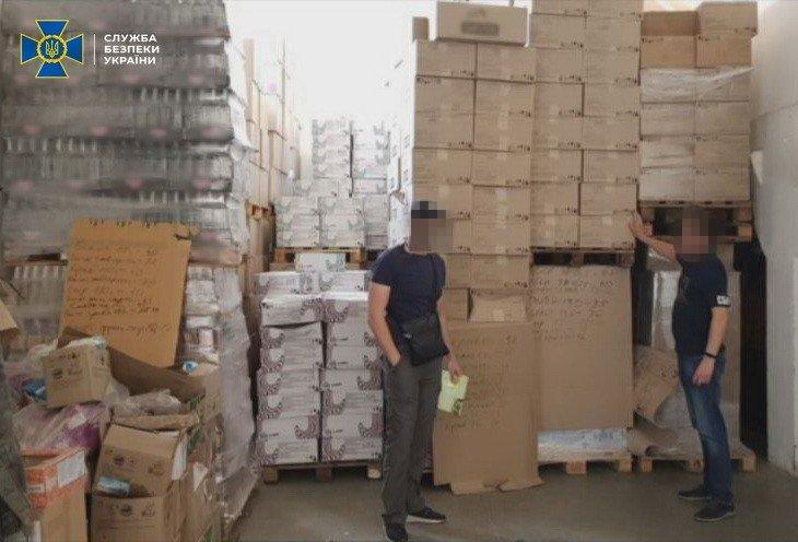 СБУ заблокировала схему незаконной поставки продукции в ОРДЛО., - ФОТО, фото-1