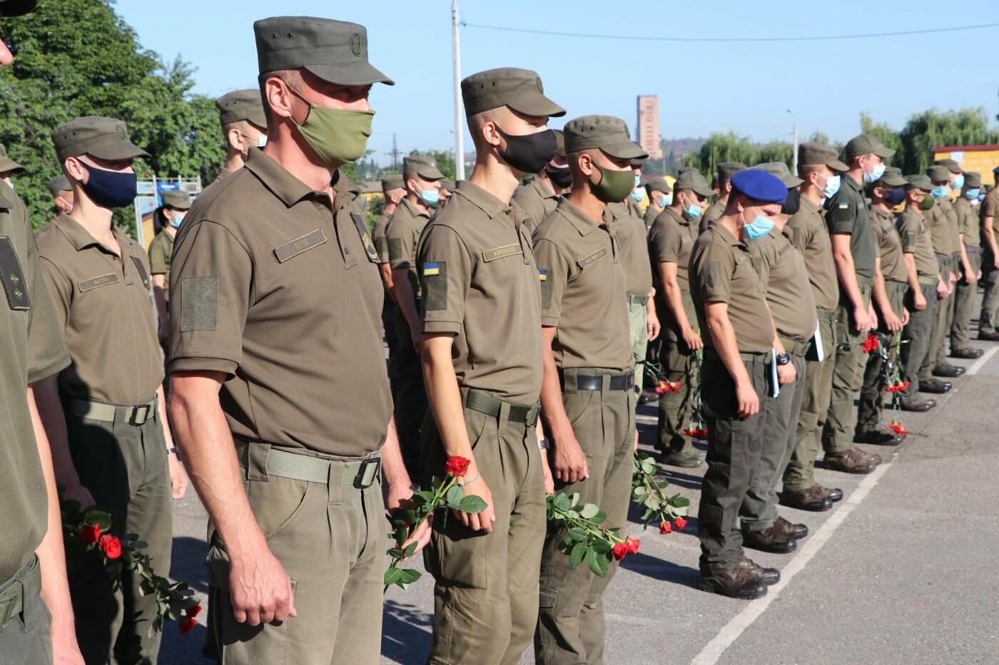 В Кривом Роге нацгвардейцы почтили память погибших побратимов, - ФОТО, фото-9