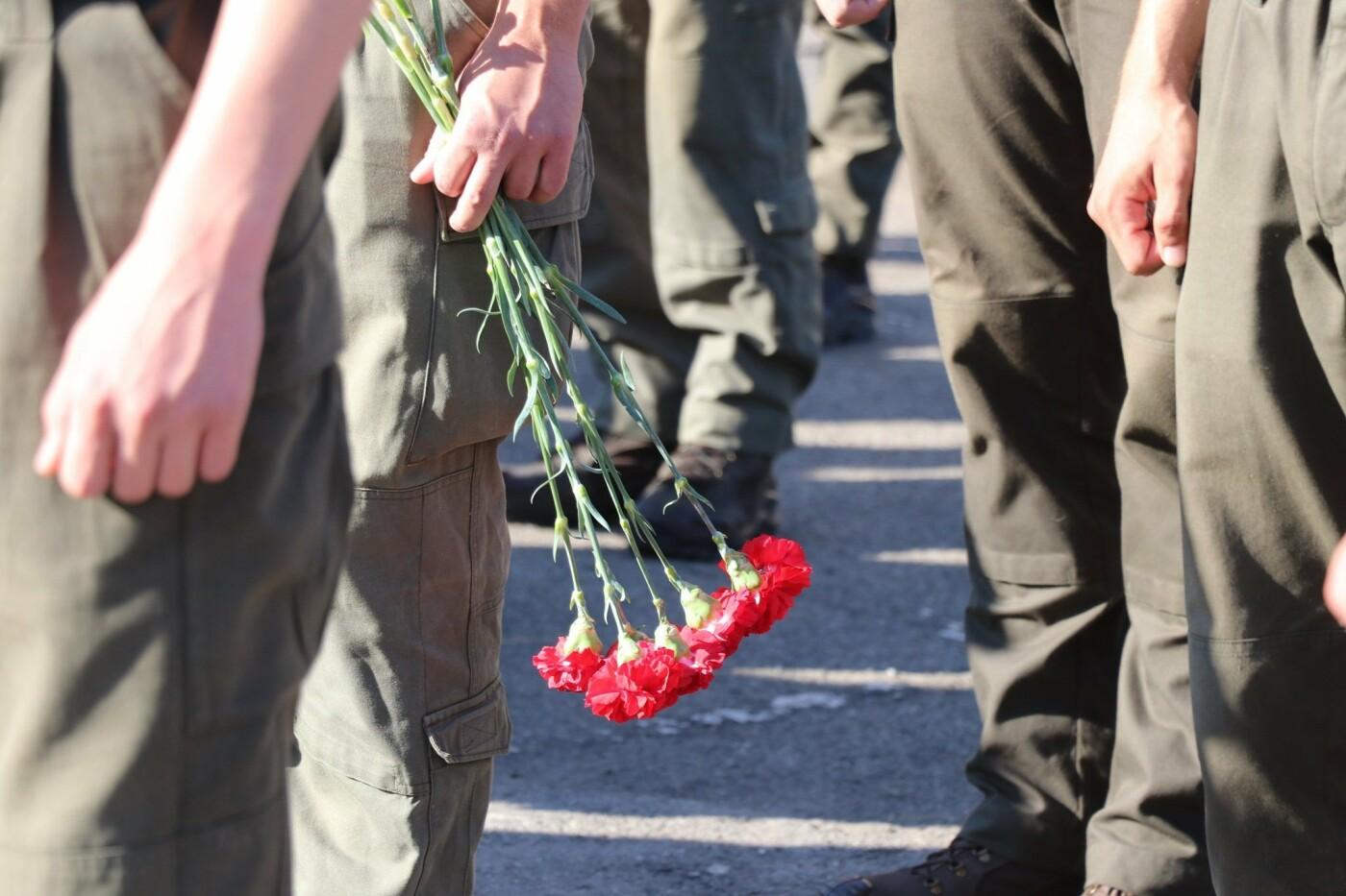 В Кривом Роге нацгвардейцы почтили память погибших побратимов, - ФОТО, фото-4