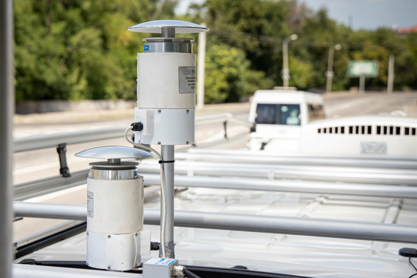 В Кривом Роге побывает мобильная станция мониторинга воздуха «Эол-1», аналогов которой нет в Украине, - ФОТО, фото-2