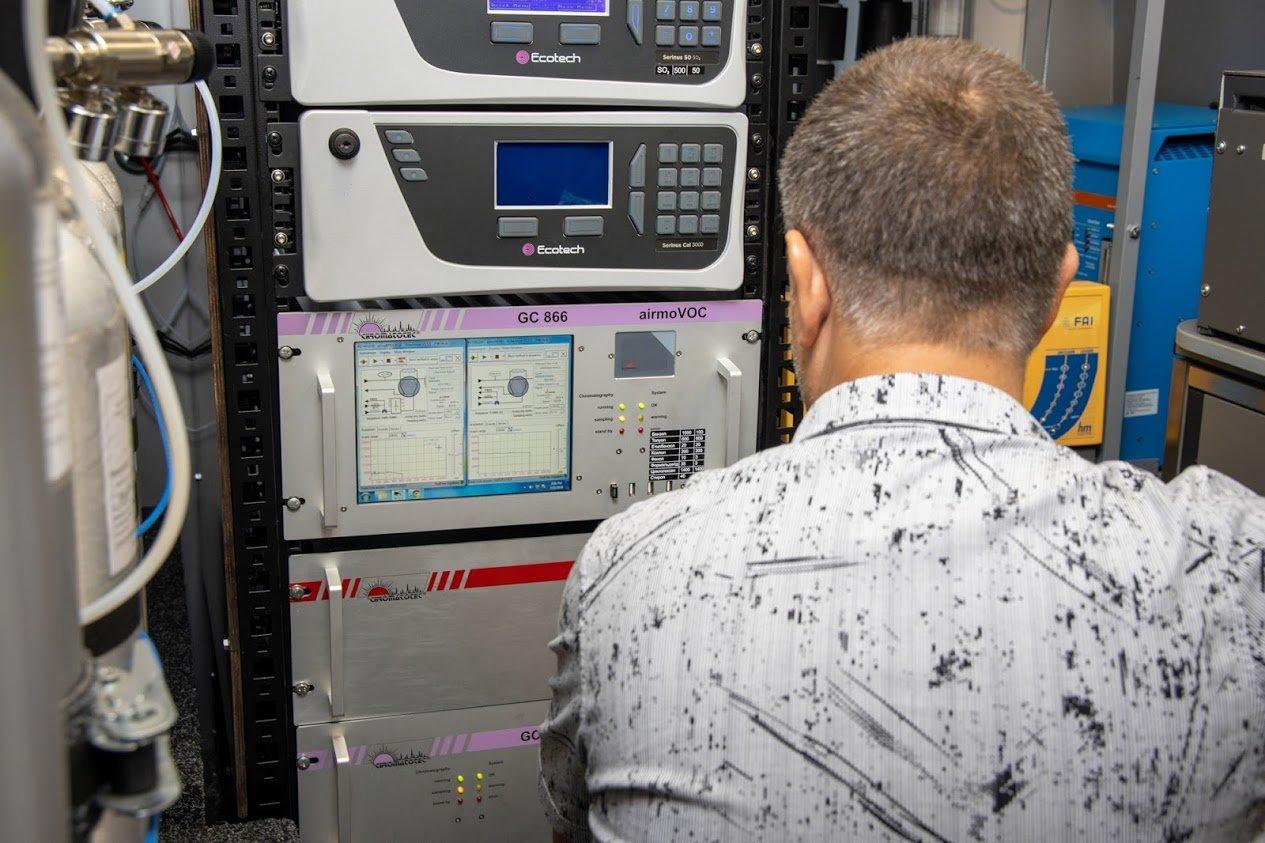 В Кривом Роге побывает мобильная станция мониторинга воздуха «Эол-1», аналогов которой нет в Украине, - ФОТО, фото-4