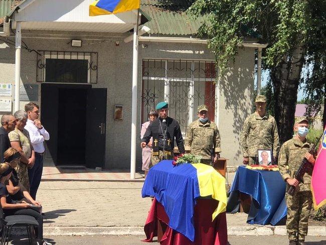 На Днепропетровщине простились с погибшим на Донбассе морпехом Ярославом Журавлем, фото-1