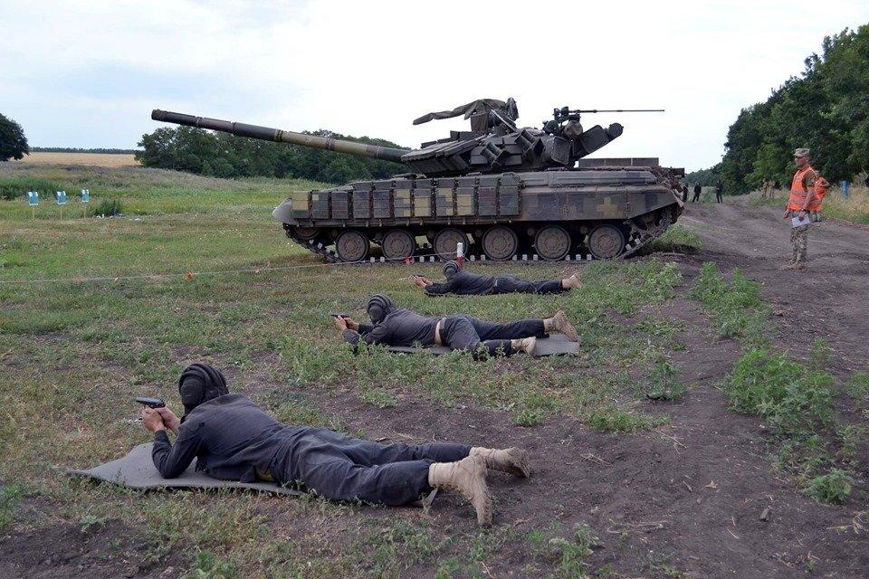 Криворожские танкисты соревнуются за право представлять ВСУ на международных соревнованиях в Германии, - ФОТО , фото-9
