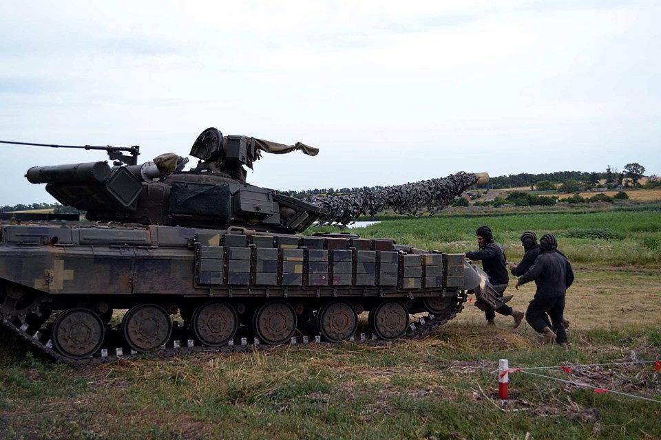 Криворожские танкисты соревнуются за право представлять ВСУ на международных соревнованиях в Германии, - ФОТО , фото-1