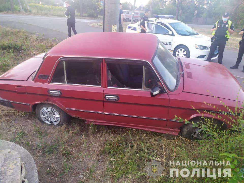 Полицейским в Кривом Роге удалось оперативно найти угнанный со двора ВАЗ, - ФОТО, фото-1