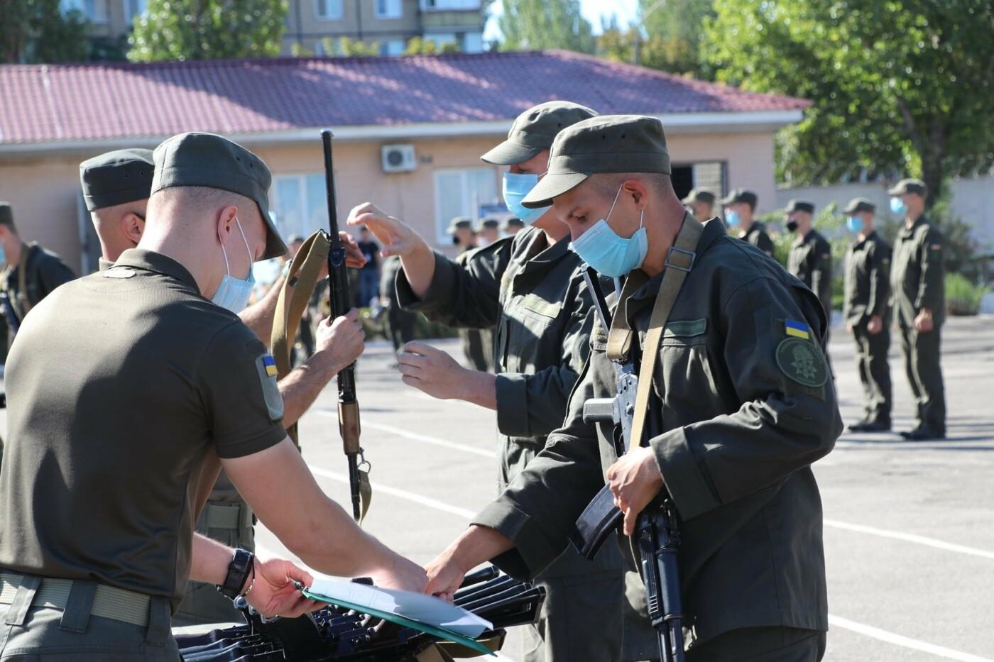 В Криворожской бригаде Нацгвардии новобранцы получили боевое оружие, - ФОТО, фото-1
