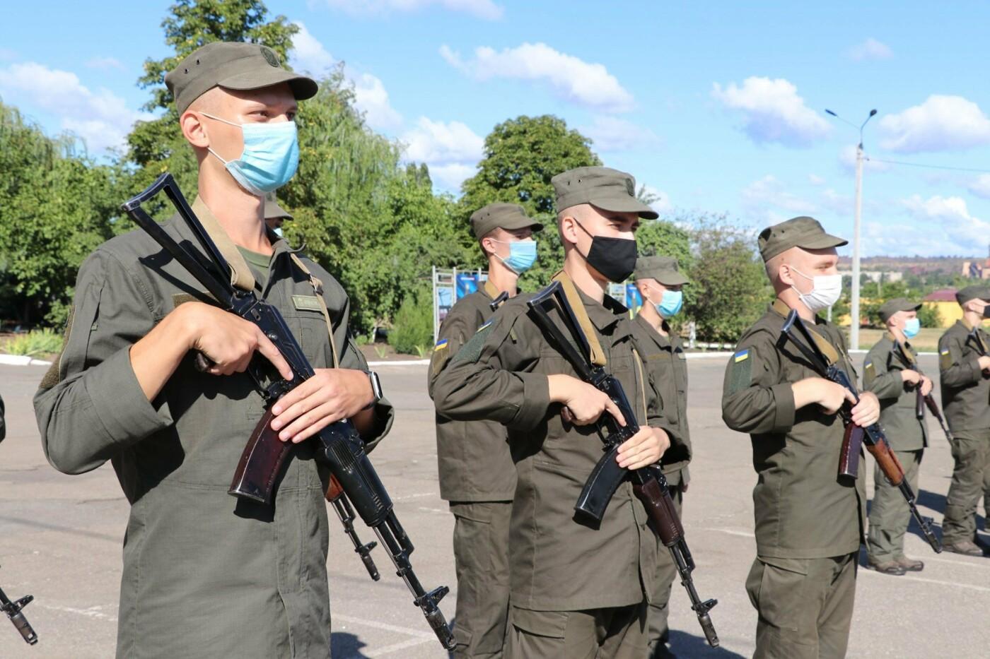 В Криворожской бригаде Нацгвардии новобранцы получили боевое оружие, - ФОТО, фото-7