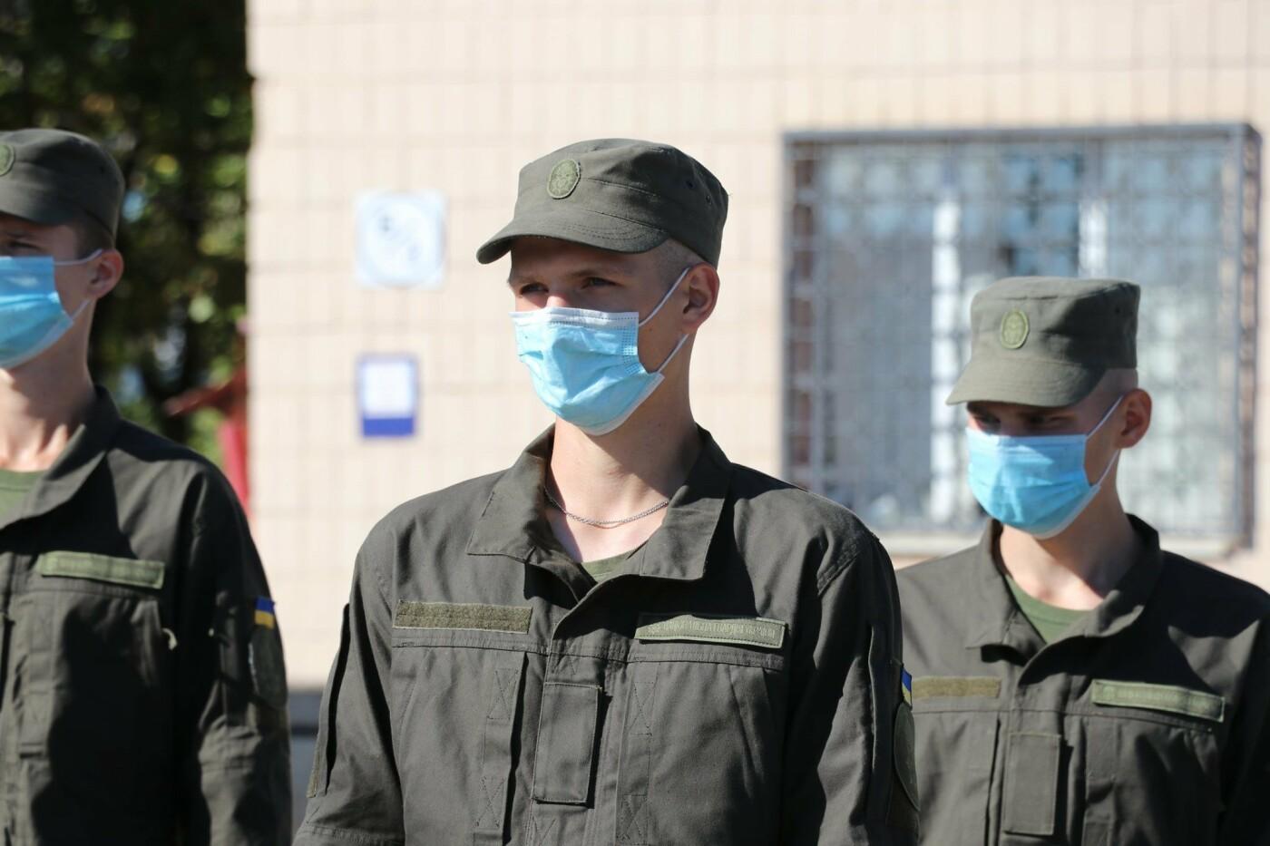В Криворожской бригаде Нацгвардии новобранцы получили боевое оружие, - ФОТО, фото-8