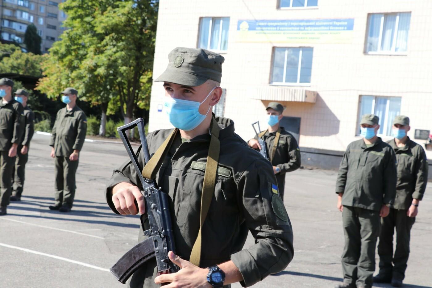 В Криворожской бригаде Нацгвардии новобранцы получили боевое оружие, - ФОТО, фото-9