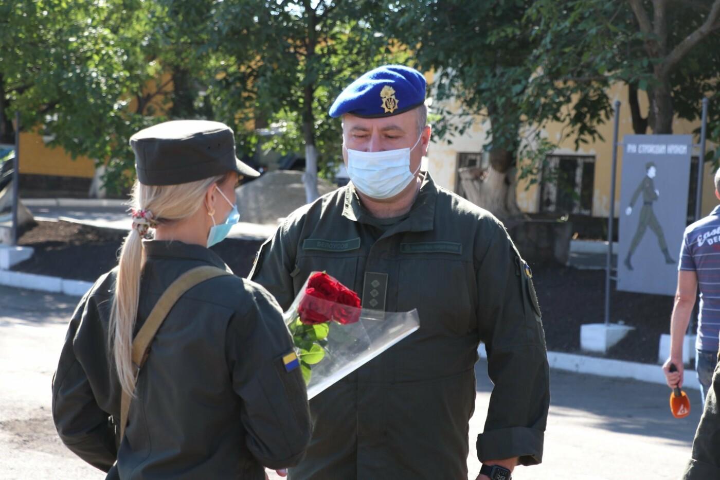 В Кривом Роге 40 гвардейцев поклялись в верности народу Украины, - ФОТО, фото-7