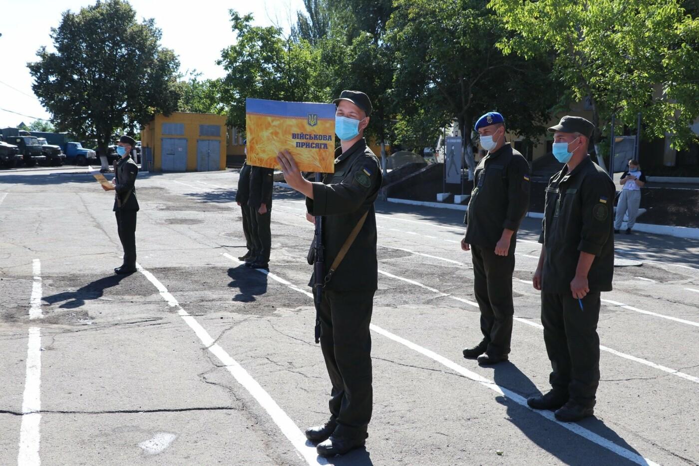 В Кривом Роге 40 гвардейцев поклялись в верности народу Украины, - ФОТО, фото-2