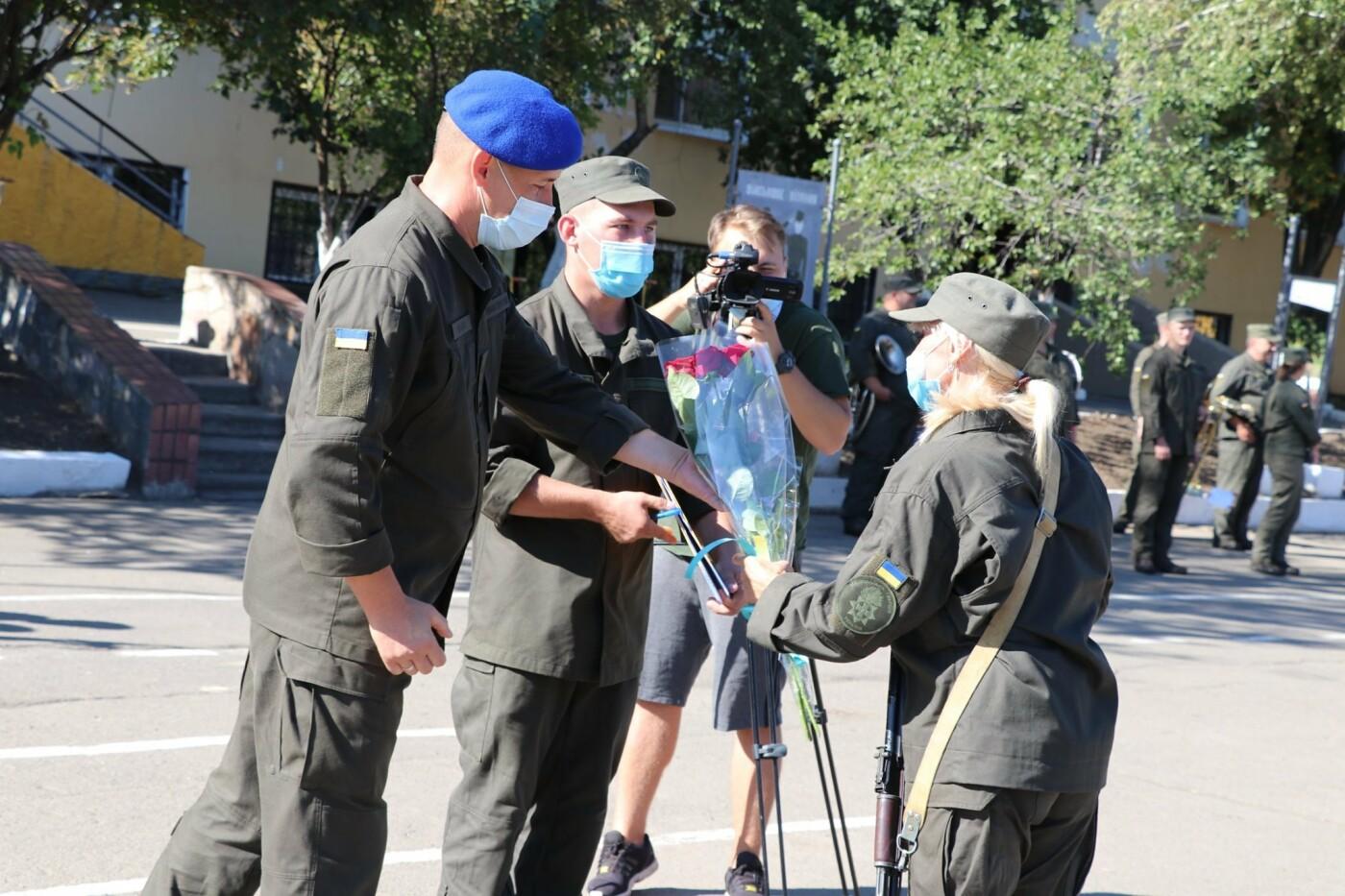 В Кривом Роге 40 гвардейцев поклялись в верности народу Украины, - ФОТО, фото-10