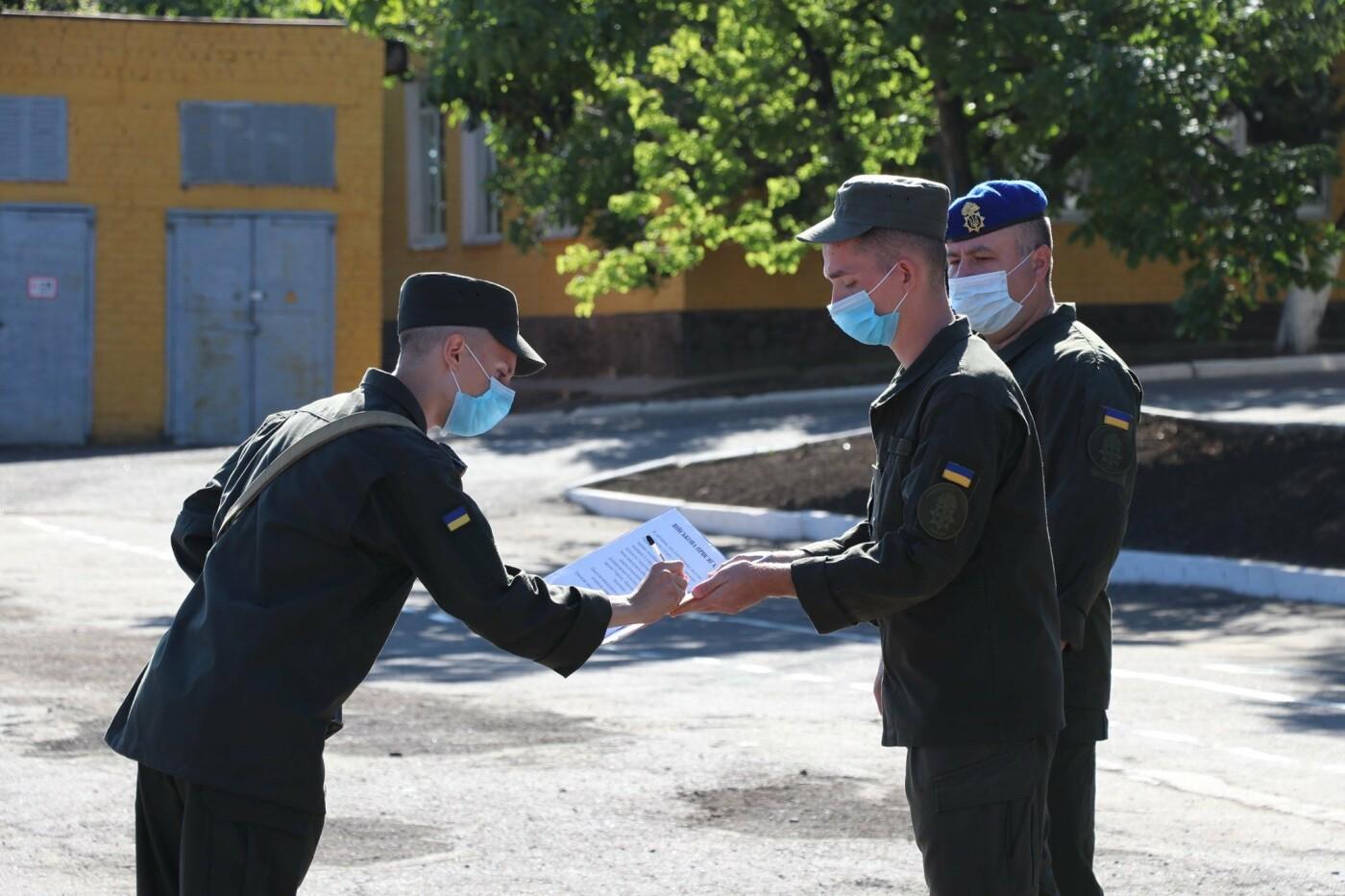 В Кривом Роге 40 гвардейцев поклялись в верности народу Украины, - ФОТО, фото-11