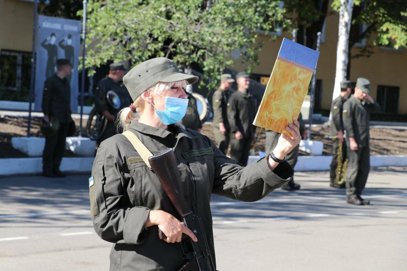 В Кривом Роге 40 гвардейцев поклялись в верности народу Украины, - ФОТО, фото-3