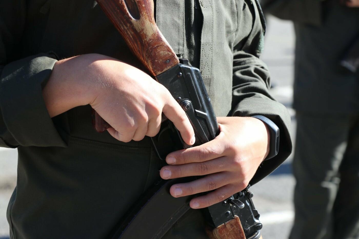 В Кривом Роге 40 гвардейцев поклялись в верности народу Украины, - ФОТО, фото-14