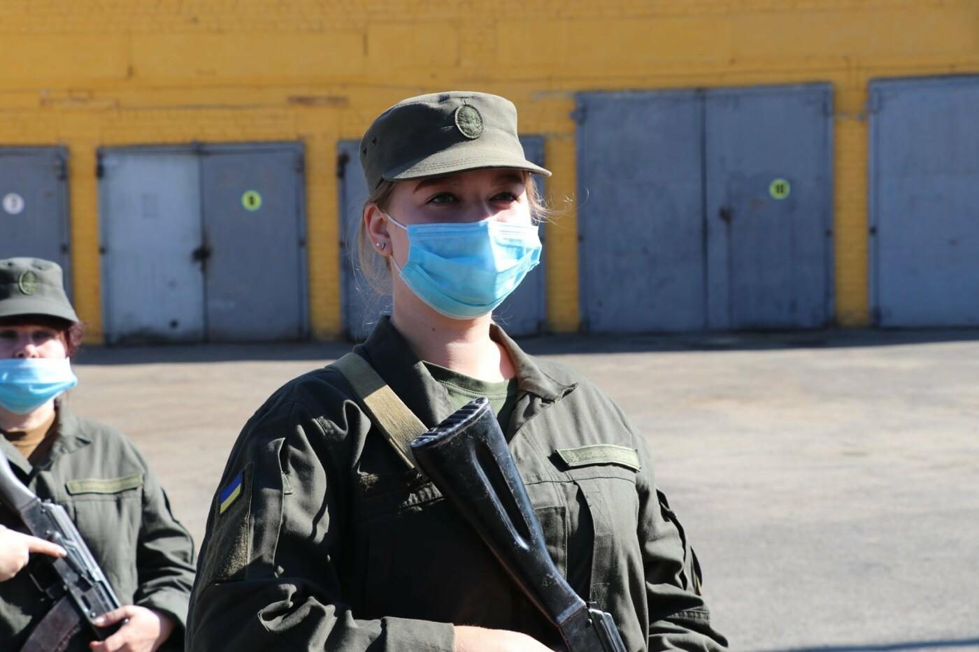 В Кривом Роге 40 гвардейцев поклялись в верности народу Украины, - ФОТО, фото-19