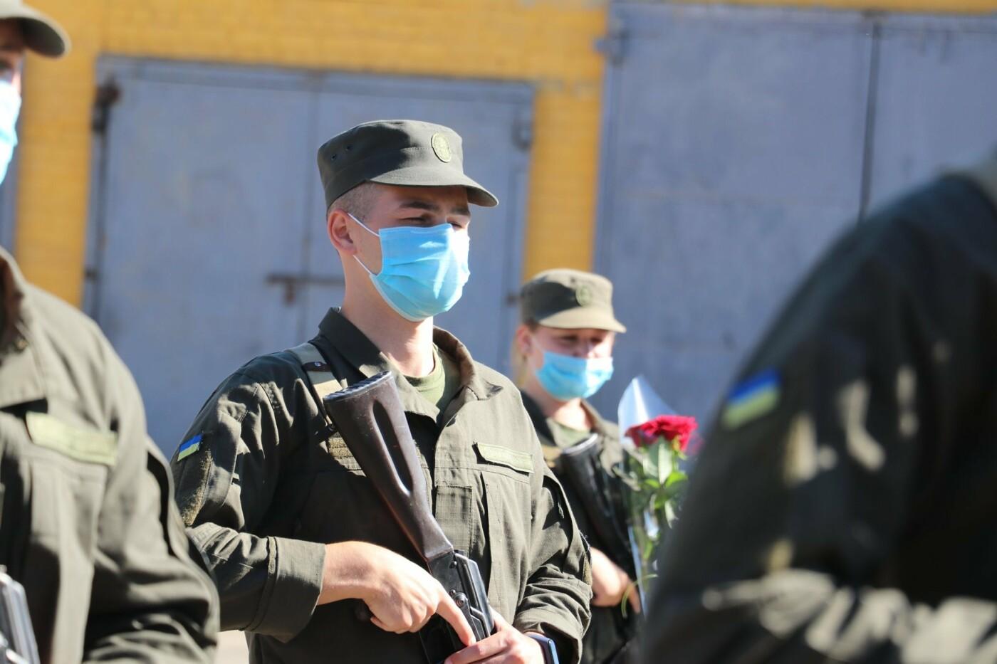 В Кривом Роге 40 гвардейцев поклялись в верности народу Украины, - ФОТО, фото-23