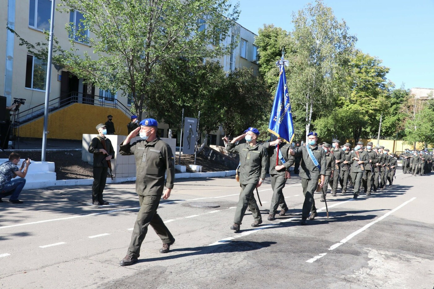 В Кривом Роге 40 гвардейцев поклялись в верности народу Украины, - ФОТО, фото-24