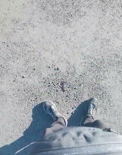 """Разрушение на финале реконструкции"", - блогер показал качество ремонта на проспекте 200-летия Кривого Рога, - ФОТО, фото-2"