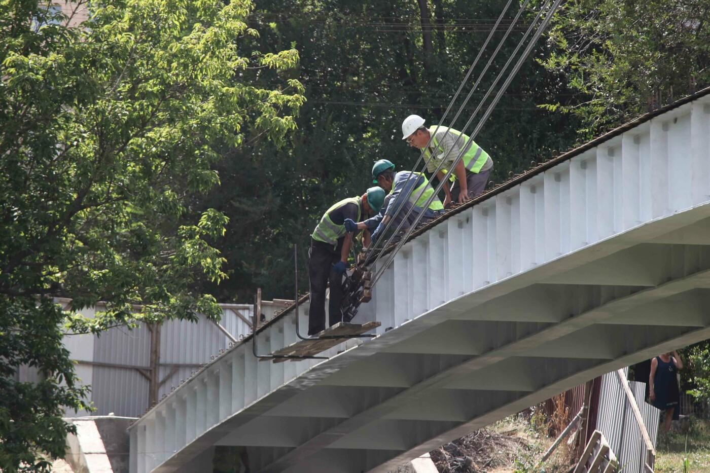 Юрій Вілкул: Незабаром криворіжці зможуть переходити річку Саксагань по новому 65 - метровому мосту, фото-4