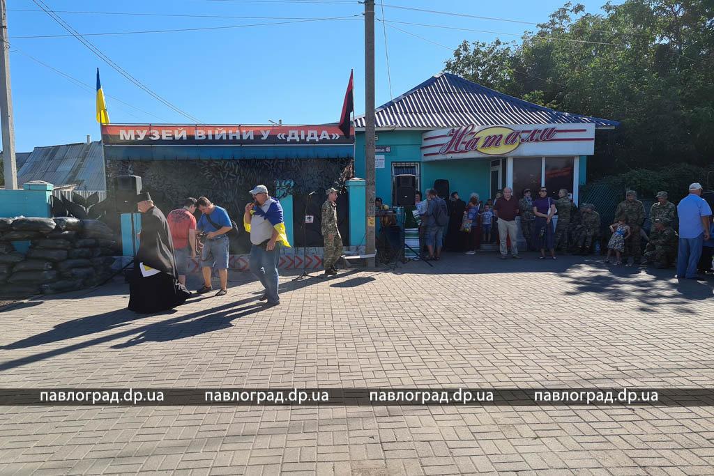 На Днепропетровщине открыли уникальный памятник участникам войны на Донбассе, - ФОТО , фото-2