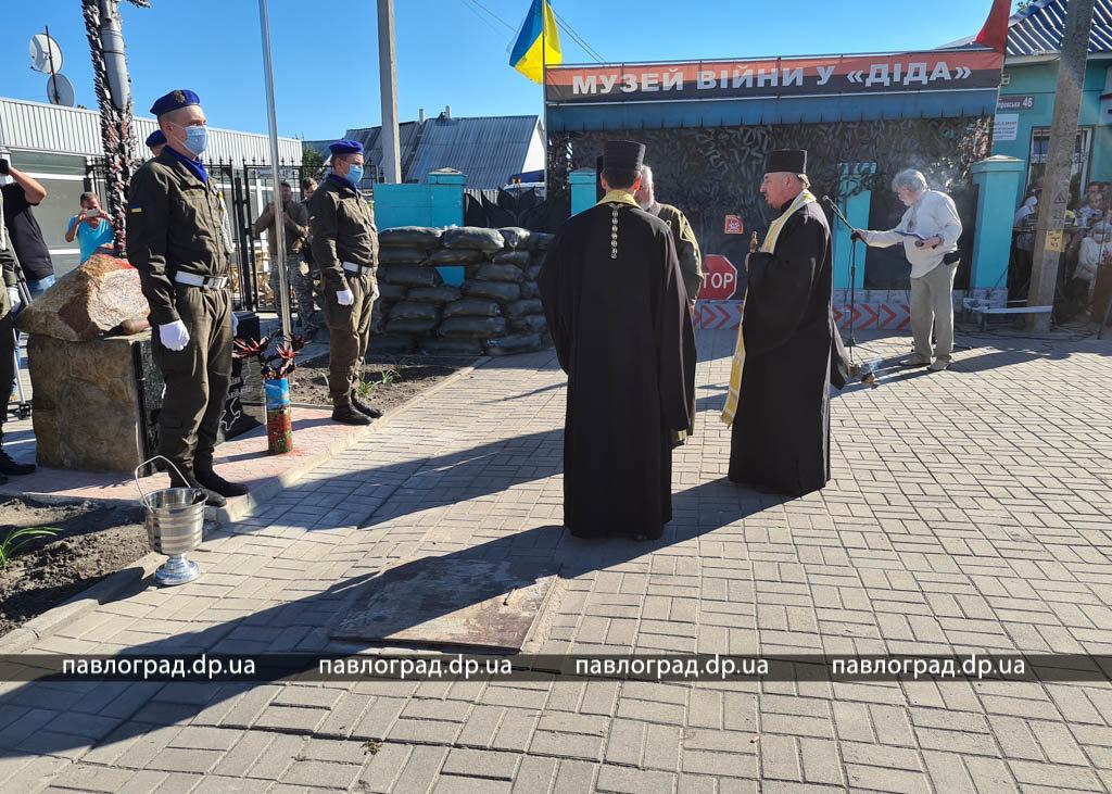 На Днепропетровщине открыли уникальный памятник участникам войны на Донбассе, - ФОТО , фото-6
