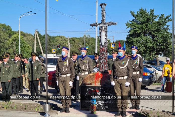 На Днепропетровщине открыли уникальный памятник участникам войны на Донбассе, - ФОТО , фото-5