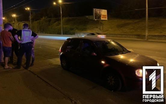 В Кривом Роге пьяного водителя, совершившего ДТП, ловили мотоциклисты с патрульными, - ФОТО, фото-2