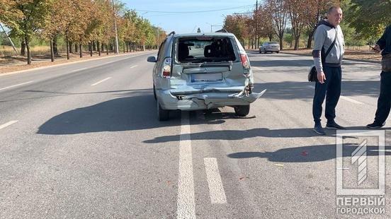 """В Кривом Роге водитель """"ВАЗа"""" влетел в """"Mitsubishi"""", - ФОТО, фото-1"""