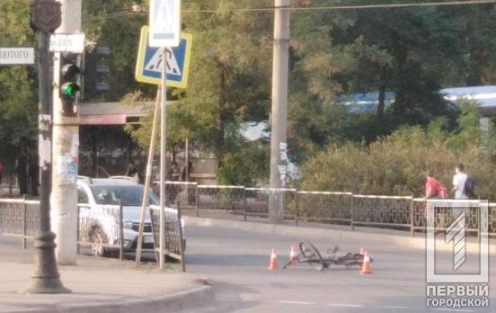 В Кривом Роге в результате ДТП пострадал велосипедист, - ФОТО , фото-2