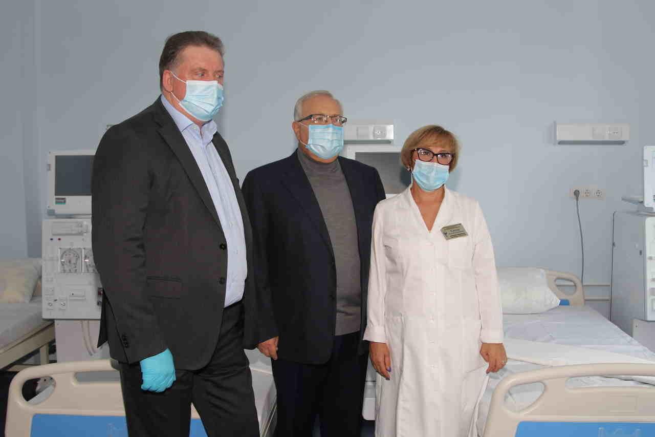 Ю. Вілкул: Продовжуємо модернізацію лікарень, які рік тому передала нам область - у міській лікарні №2 відкрито відділення амбулаторного ге..., фото-6